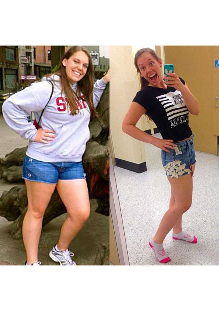 Chelsea's journey to a healthy lifestyle