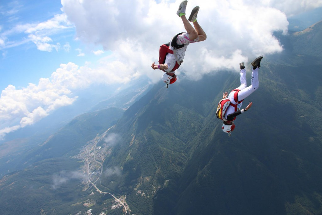 Skydiving as Stress Reliever